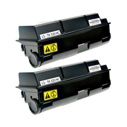 Logic-Seek 2 Toner kompatibel zu Kyocera TK-320 1T02F90EU0 HC Schwarz