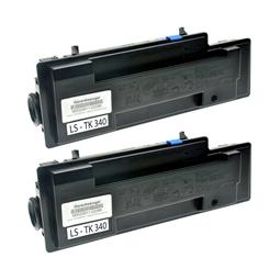 Logic-Seek 2 Toner kompatibel zu Kyocera TK-340 1T02J00EU0 HC Schwarz