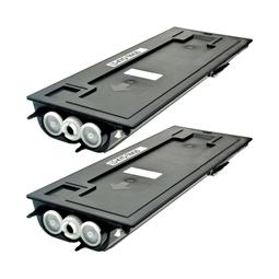 Logic-Seek 2 Toner kompatibel zu Kyocera TK-420 370AR010 HC Schwarz