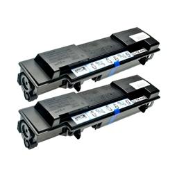 Logic-Seek 2 Toner kompatibel zu Kyocera TK-440 1T02F70EU0 HC Schwarz