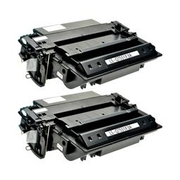 Logic-Seek 2 Toner kompatibel zu HP 51X Q7551X HC Schwarz
