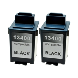 Logic-Seek 2 Tintenpatronen kompatibel zu Lexmark 13400HCE XL Schwarz