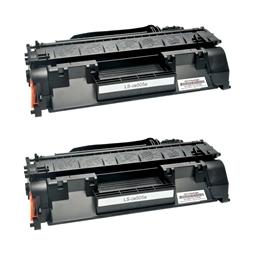 Logic-Seek 2 Toner kompatibel zu HP 05A CE505A HC Schwarz