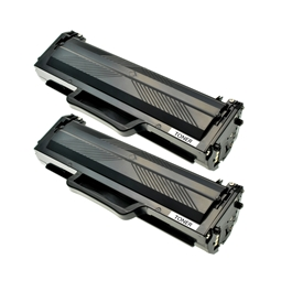 Logic-Seek 2 Toner kompatibel zu Panasonic KX-FA76X HC Schwarz