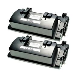Logic-Seek 2 Toner kompatibel zu HP 64X CC364X HC Schwarz