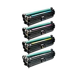Logic-Seek 4 Toner kompatibel zu HP CE270A-CE273A HC