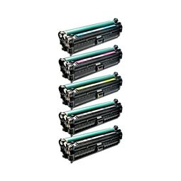 Logic-Seek 5 Toner kompatibel zu HP CE740A-CE743A HC