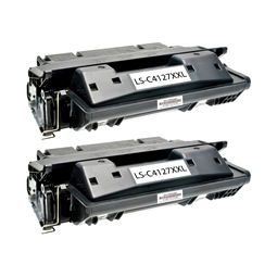 Logic-Seek 2 Toner kompatibel zu HP 27X C4127X HC Schwarz