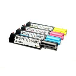 Logic-Seek 4 Toner kompatibel zu Dell 3000 3100 HC