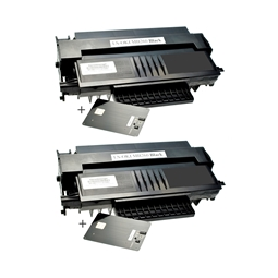 Logic-Seek 2 Toner kompatibel zu OKI MB260 1240001 HC Schwarz