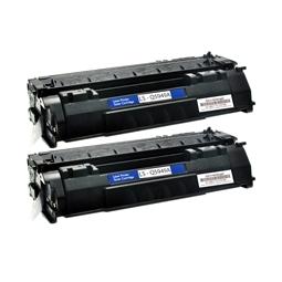 Logic-Seek 2 Toner kompatibel zu HP 49A Q5949A HC Schwarz