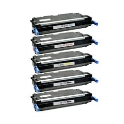 Logic-Seek 5 Toner kompatibel zu HP Q7560A-Q7563A 3000 HC