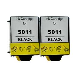 Logic-Seek 2 Tintenpatronen kompatibel zu HP 14 C5011DE XL Schwarz