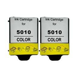 Logic-Seek 2 Tintenpatronen kompatibel zu HP 14 C5010DE XL Color