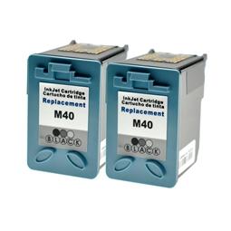 Logic-Seek 2 Tintenpatronen kompatibel zu Samsung M40 INK-M40/ELS XL Schwarz
