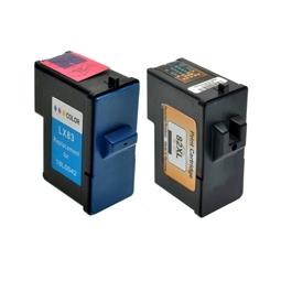 Logic-Seek 2 Tintenpatronen kompatibel zu Lexmark 82 83 XL