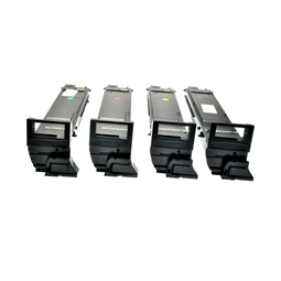 Logic-Seek 4 Toner kompatibel zu Konica Minolta 5550 HC