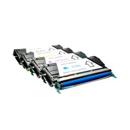 Logic-Seek 4 Toner kompatibel zu Lexmark C736 UHC