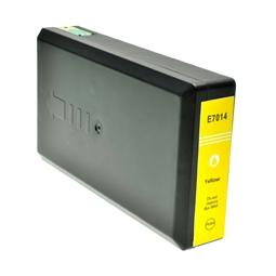 Logic-Seek  Tintenpatrone kompatibel zu Epson Stylus WP4015 T7014 C13T70144010 XL Yellow