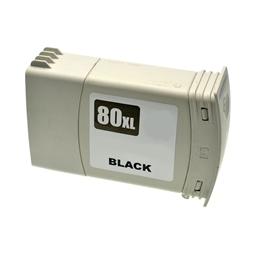 Logic-Seek  Tintenpatrone kompatibel zu HP 80 C4871A XL Schwarz
