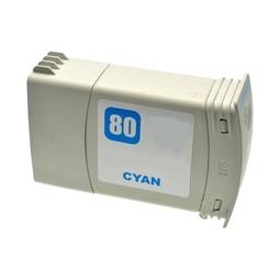 Logic-Seek  Tintenpatrone kompatibel zu HP 80 C4846A XL Cyan
