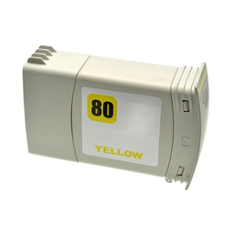 Logic-Seek  Tintenpatrone kompatibel zu HP 80 C4848A XL Yellow