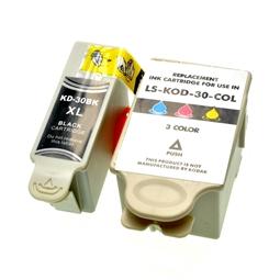 Logic-Seek 2 Tintenpatronen kompatibel zu Kodak 30 XL