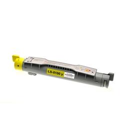 Logic-Seek  Toner kompatibel zu Dell 5100 G5774 593-10053 HC Yellow