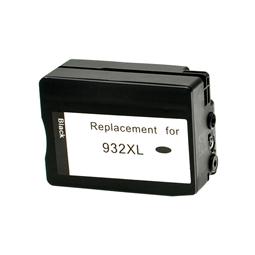 Logic-Seek  Tintenpatrone kompatibel zu HP 932XL CN053AE XL Schwarz