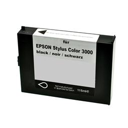 Logic-Seek  Tintenpatrone kompatibel zu Epson Stylus 3000 C13S020118 XL Schwarz