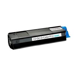Logic-Seek  Toner kompatibel zu Olivetti DColor P12 B0456 HC Cyan