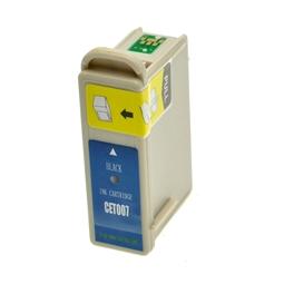 Logic-Seek  Tintenpatrone kompatibel zu Epson Stylus 870 T007 C13T00740110 XL Schwarz