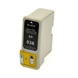 Logic-Seek  Tintenpatrone kompatibel zu Epson Stylus C46 T036 C13T03614010 XL Schwarz