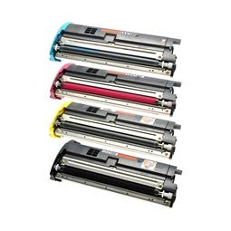 Logic-Seek 4 Toner kompatibel zu Epson C1000 HC
