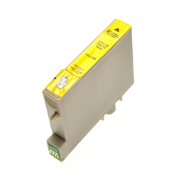 Logic-Seek  Tintenpatrone kompatibel zu Epson Stylus R800 T0544 C13T05444010 XL Yellow