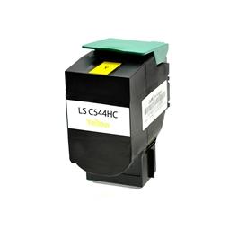 Logic-Seek  Toner kompatibel zu Lexmark C540 X544 XL C544X2YG HC Yellow