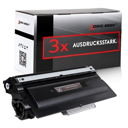 Logic-Seek 3 Toner kompatibel zu Brother TN-3380 HC Schwarz