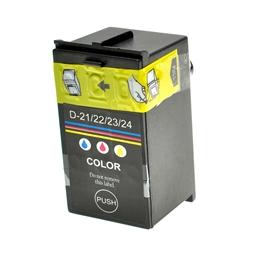 Logic-Seek  Tintenpatrone kompatibel zu Dell D21-24 Y499D 592-11333 XL Color