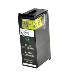 Logic-Seek  Tintenpatrone kompatibel zu Dell D21-24 Y498D 592-11331 XL Schwarz