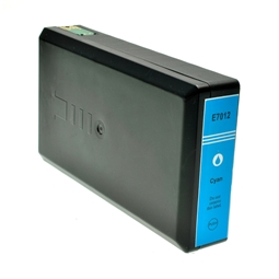 Logic-Seek  Tintenpatrone kompatibel zu Epson Stylus WP4015 T7022 C13T70224010 XL Cyan