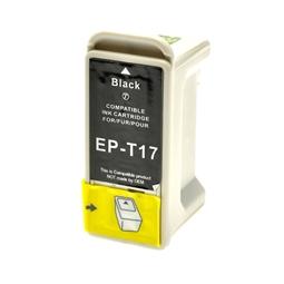 Logic-Seek  Tintenpatrone kompatibel zu Epson Stylus 680 T017 C13T01740210 XL Schwarz