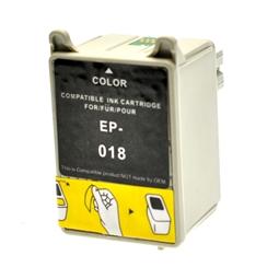 Logic-Seek  Tintenpatrone kompatibel zu Epson Stylus 680 T018 C13T01840110 XL Color