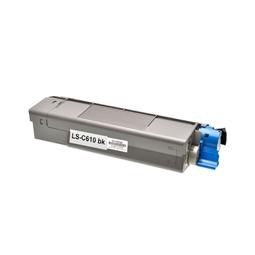 Logic-Seek  Toner kompatibel zu OKI C610 44315308 HC Schwarz