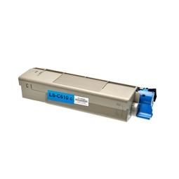 Logic-Seek  Toner kompatibel zu OKI C610 44315307 HC Cyan