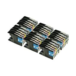 Logic-Seek 30 Tintenpatronen kompatibel zu Brother LC-1240 XL