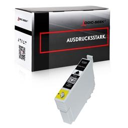Logic-Seek  Tintenpatrone kompatibel zu Epson Stylus XP205 18XL C13T18114010 XL Schwarz