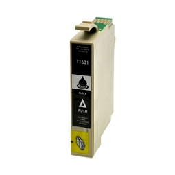 Logic-Seek  Tintenpatrone kompatibel zu Epson Stylus WF2510 16XL C13T16314010 XL Schwarz
