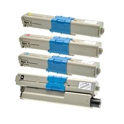 Logic-Seek 4 Toner kompatibel zu OKI C510 HC