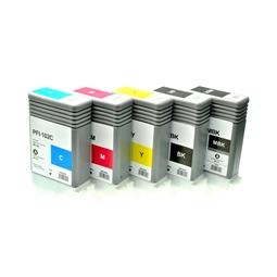 Logic-Seek 5 Tintenpatronen kompatibel zu Canon PFI-102 XL