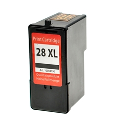 Logic-Seek  Tintenpatrone kompatibel zu Lexmark 28A 18C1528E XL Schwarz
